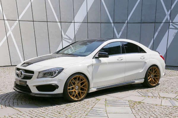 Mercedes CLA Saphir by Loewenstein