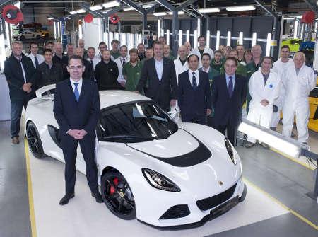 Lotus Exige S 1.000