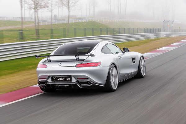 Mercedes-AMG GT Luethen Motorsport