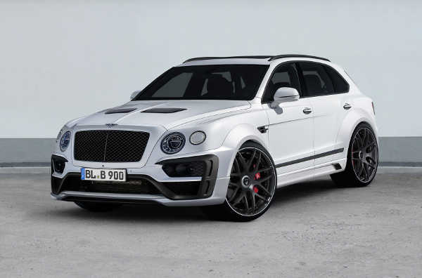 Bentley Bentayga Widebodykit Lumma CLR-B-900