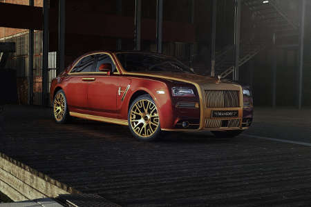 Rolls-Royce Ghost by Mansory