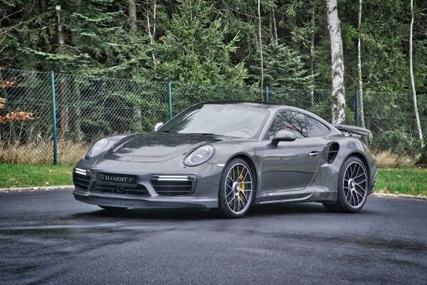 Porsche 911 Turbo S von Mansory