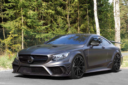 Mansory S63 Coupé Black Edition