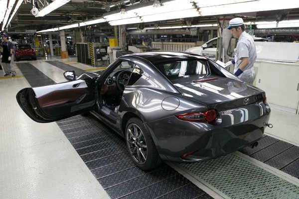 Mazda MX-5 RF Produktion