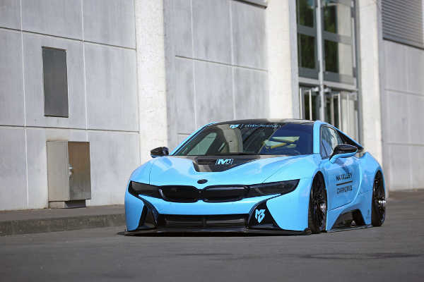 BMW i8 Blue Pepper von mbDESIGN & Maxklusiv Carworks
