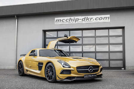 Mercedes SLS 6.3 AMG Black Series by mcchip-dkr