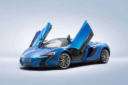 McLaren 650S Spider MSO Pebble Beach 2014