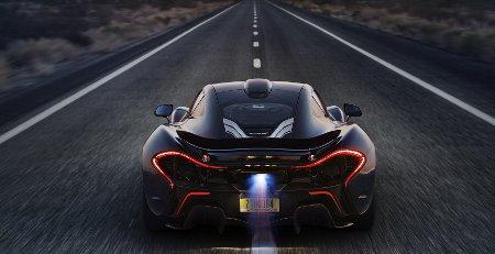 McLaren P1 Extremtest