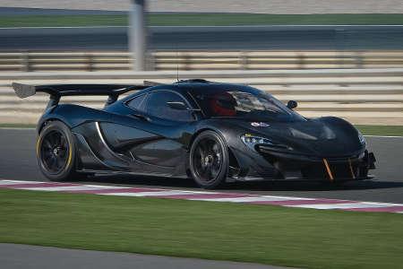 McLaren P1 GTR Serie