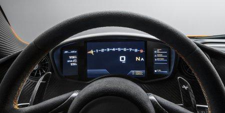 McLaren P1 Innenansicht