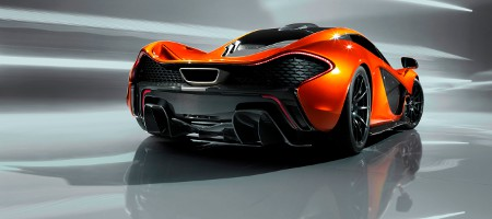 McLaren P1 Pariser Autosalon 2012
