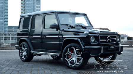 Mercedes G63 AMG by MEC Design