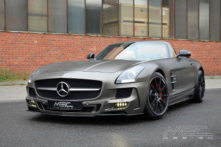 Mercedes SLS AMG R197 by MEC Design
