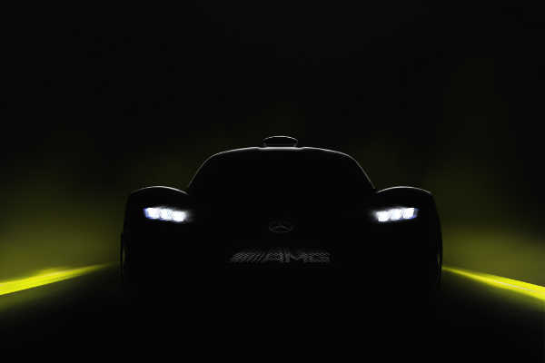 Mercedes-AMG Project ONE Teaser IAA 2017