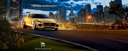 Mercedes SLS AMG Black Series Renderings