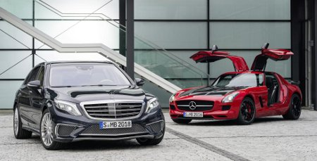 Mercedes SLS AMG GT Final Edition & Mercedes S 65 AMG