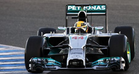 Mercedes W05 Formel 1 2014