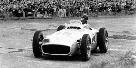 Mercedes W 196 R Juan Manuel Fangio 1954