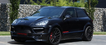 Merdad 902 Coupé auf Basis des Porsche Cayenne Turbo