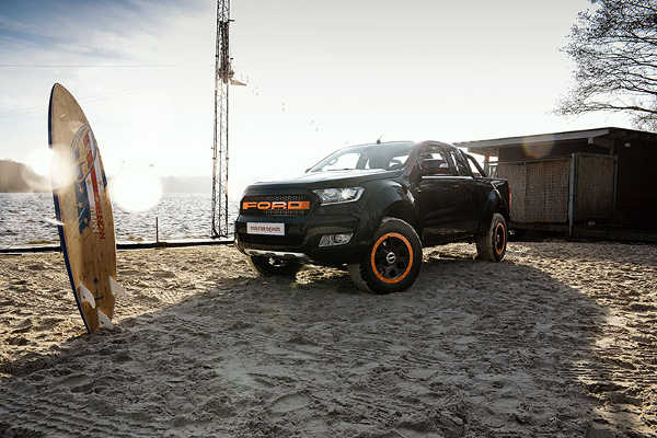 Ford Ranger MR Car Design