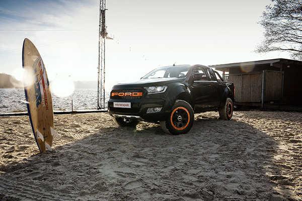 Ford Ranger MR Car Design