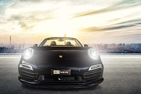 Porsche 991 Turbo S by O.CT Tuning