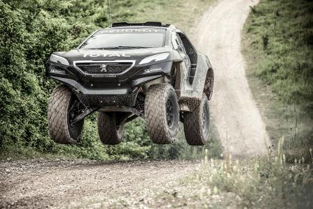 Peugeot 2008 DKR Rallye Dakar 2015