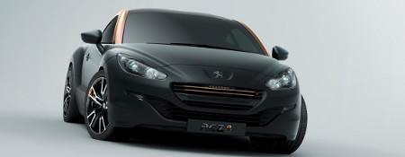Peugeot RCZ R Concept Pariser Autosalon 2012
