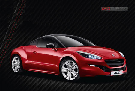 Peugeot RCZ Red Carbon 2014