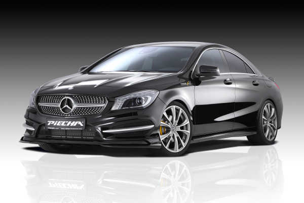 Mercedes CLA mit Piecha GT-R-Styling-Kit
