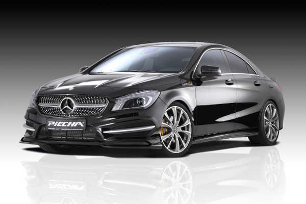 Mercedes CLA mit Piecha GT-R-Styling-Kit