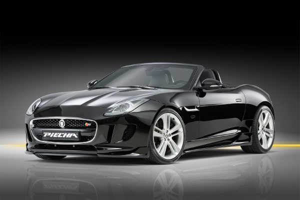 Jaguar F-Type Cabriolet by Piecha