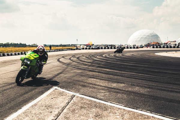 Motorradrennen auf dem Pixers Ring