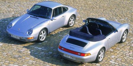 Porsche 911 993 Coupe und Cabrio