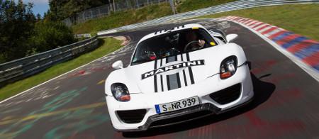 Porsche 918 Spyder Prototyp auf der Nordschleife
