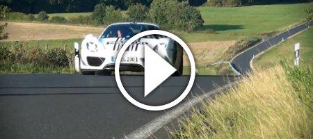 Spyshots Porsche 918 Spyder