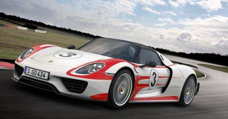 Porsche 918 Spyder mit Weissach-Paket