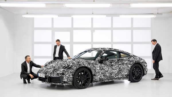 Porsche 911 2018 (992)