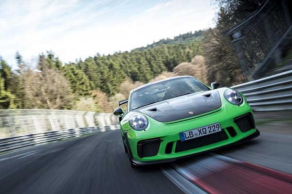 Porsche 911 GT3 RS 2018 auf der Nürburgring-Nordschleife
