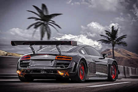 RECON MC8 Audi R8 by Potter & Rich