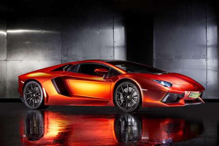 Lamborghini Aventador by Print Tech