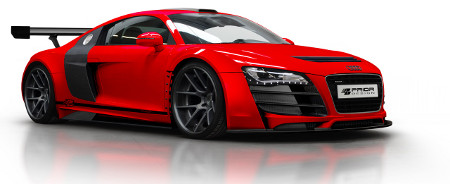 Audi R8 mit Widebody-Kit PD GT850 von Prior Design