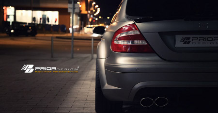 Mercedes CLK PD Black Edition Widebody by Prior Design