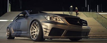 Prior Design Aero-Widebodykit Black Edition V2 für Mercedes CL