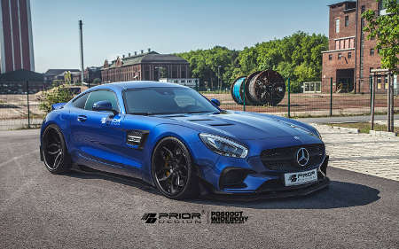 Prior PD800GT Widebodykit für Mercedes GT