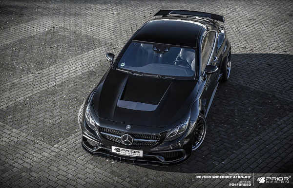 Mercedes S-Klasse Coupé PD75SC Widebodykit Prior Design