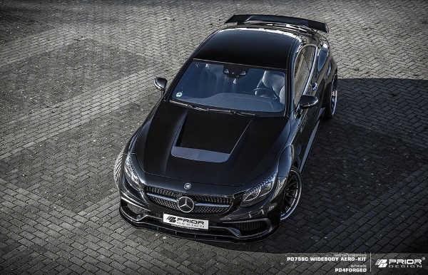Mercedes S-Klasse Coupé PD75SC Widebodykit Prior Design