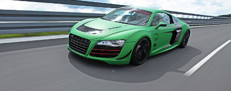 Audi R8 by racing one