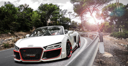 Audi R8 V10 Spyder by Regula Tuning