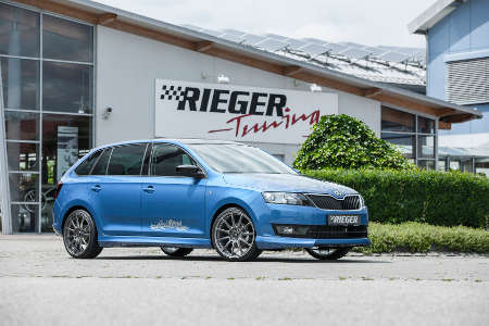Skoda Rapid by Rieger Tuning